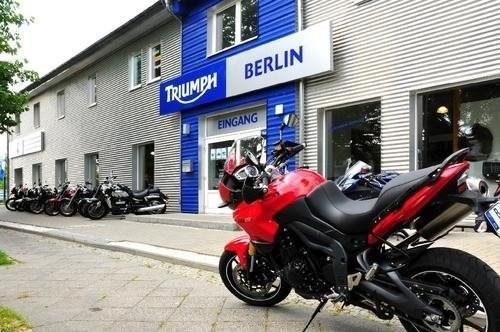 Die Triumph Niederlassung Berlin hat einen neuen Eigentümer.
