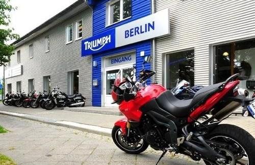 Neuer Standort der Triumph Berlin 2019