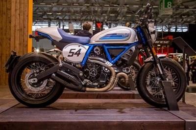 Die neue SCRAMBLER CAFE RACER von Ducati ist da !