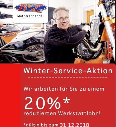 """Winterservice-Aktion in der Werkstatt  Im Winter 2018/2019 haben wir wieder eine """"Winter-Service-Aktion"""" für dich:     - Vom 01.11.2018... Weiter >>"""