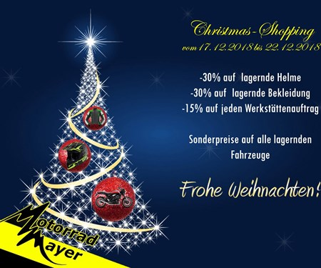 Christmas-Shopping Weihnachtsgewinnspiel