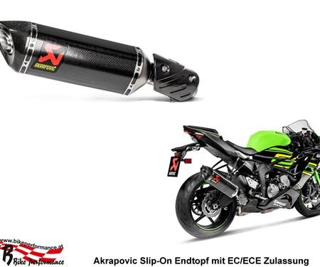 Kawasaki Ninja ZX-6R und 636: Neue Akrapovic Auspuffanlagen erhältlich!