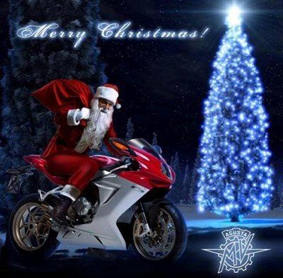 Frohe Weihnachten Motorrad.Das Att Team Wunscht Allen Frohe Weihnachten Und Einen Guten