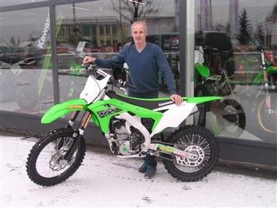 KX-Trophy Sieger holt sein neues Bike ab!