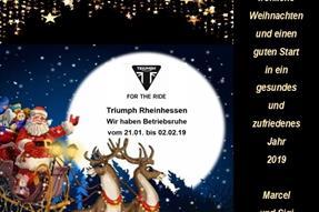 Frohe Weihnachten und einen guten Rutsch ins neue Jahr! anzeigen