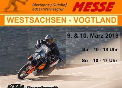 NEWS 7. Motorradmesse in Wernesgrün vom 9.-10. März 2019