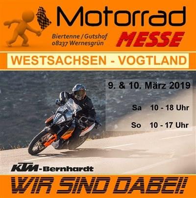 7. Motorradmesse in Wernesgrün vom 9.-10. März 2019 7. Motorradmesse in Wernesgrün vom 9.-10. März 2019