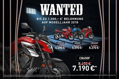 Schomaker GmbH Co. KG-News: Honda Wanted