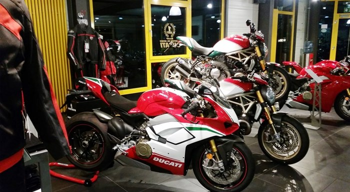 Neue DUCATI Show Bikes 2019 eingetroffen