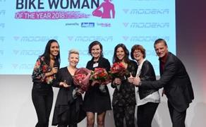 Detailansicht Bikewoman of the year 2018!