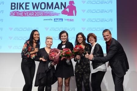 Bikewoman of the year 2018!