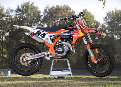 NEWS KTM 450 SX-F Herlings Replica