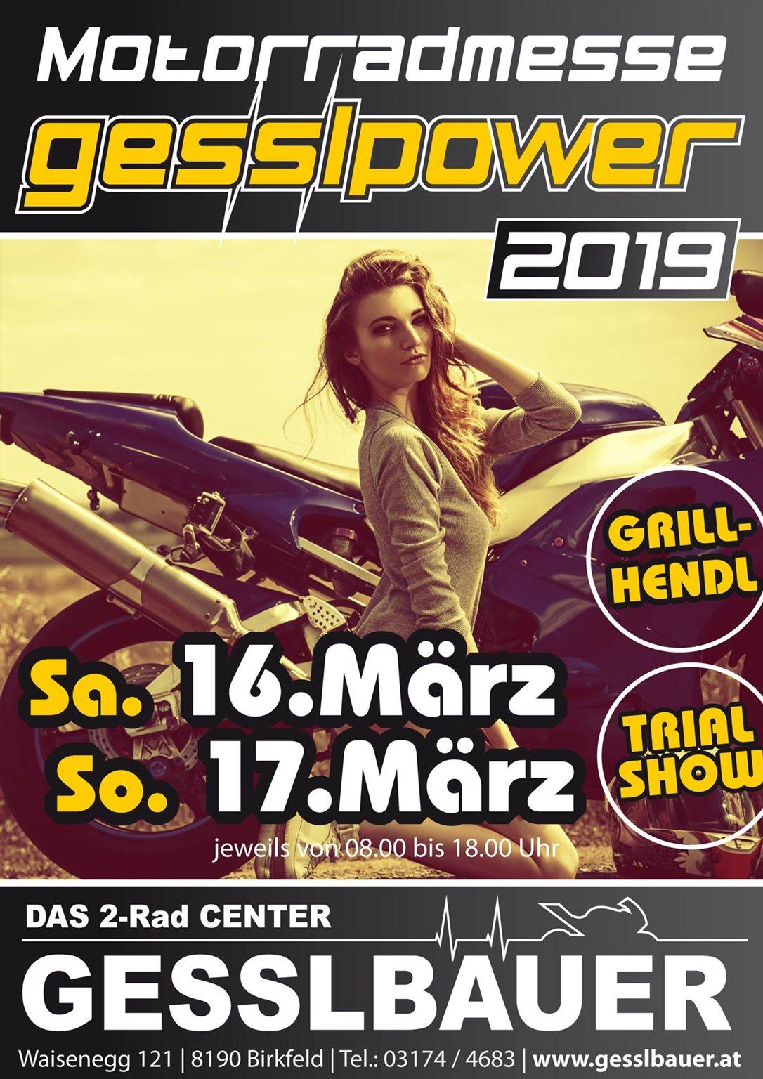 NEWS Motorradmesse 16. und 17. März 2019