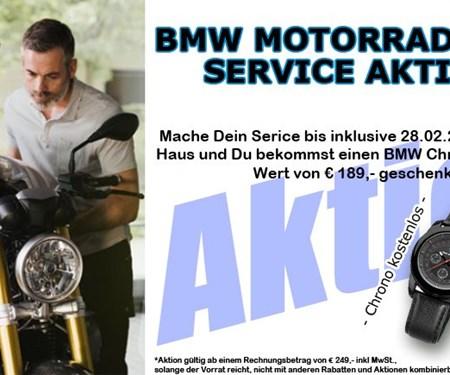 BMW Service Aktion