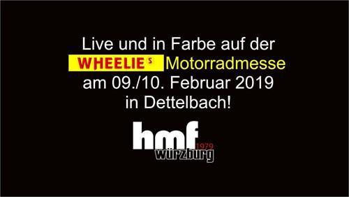 hmf auf der Wheelies Motorradmesse