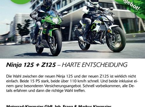 Z125 und Ninja 125