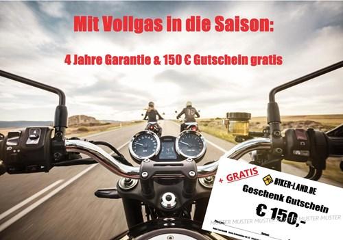 Garantie-Verlängerung & 150€ Bekleidung GRATIS !