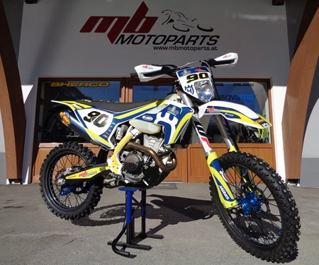 >>>FACTORY HUSQVARNA FE 350/2019 - ROLL OUT<<<