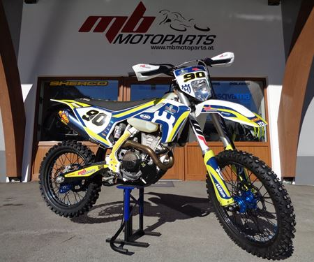 MB Motoparts-News: >>>FACTORY HUSQVARNA FE 350/2019 - ROLL OUT<<<
