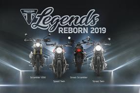 Triumph Legends Reborn Präsentation 2019 anzeigen