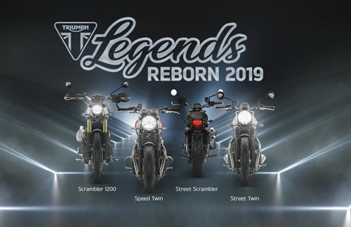 Triumph Legends Reborn Präsentation 2019