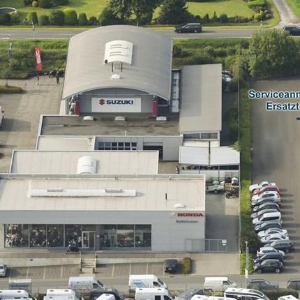 SERVICE-CENTER NEU!  Unser neues Service-Center hat den Betrieb aufgenommen.  Direkt neben unseren Verkaufsgebäuden finden Sie jetzt die Werkstatt... Weiter >>