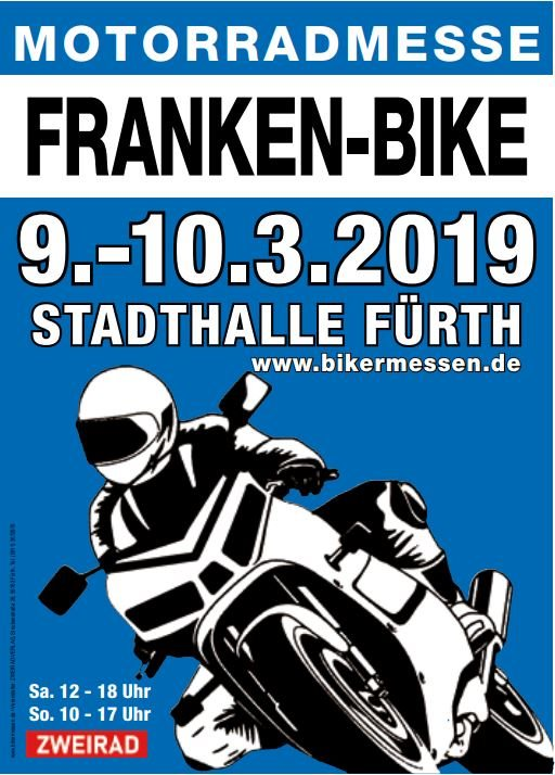 >>> FRANKEN BIKE 2019 in FÜRTH, 09./10.03.19, Wir sind am Start !  <<< TOPNEWS