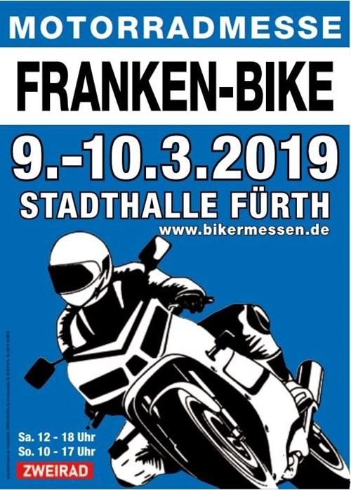 >>> FRANKEN BIKE 2019 in FÜRTH, 09./10.03.19, Wir sind am Start !  <<< TOPNEWS
