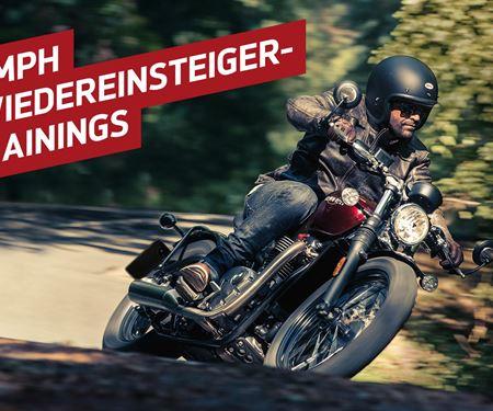 Motorrad Hintermeyer GmbH-News: Triumph Wiedereinsteigertraining