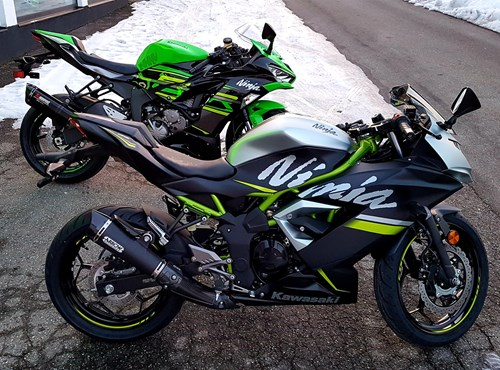 Performance-Editions: Ninja 125 und ZX-6R!