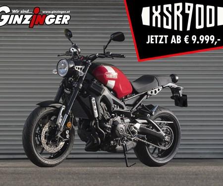 Yamaha XSR 900 ab € 9.999,- jetzt bei Zweirad Ginzinger in allen Filialen