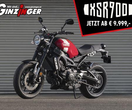 Ginzinger GmbH Zentrale Ried-News: Yamaha XSR 900 ab € 9.999,- jetzt bei Zweirad Ginzinger in allen Filialen