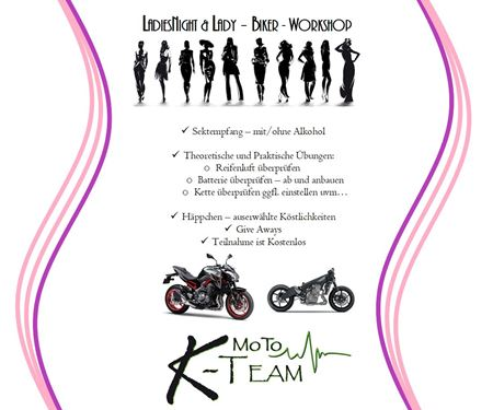 Moto K Team GmbH-News: Ladies Night WorkShop