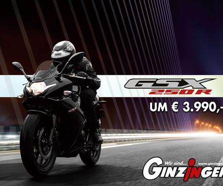 Ginzinger GmbH Filiale Salzburg-News: Suzuki GSX-250R