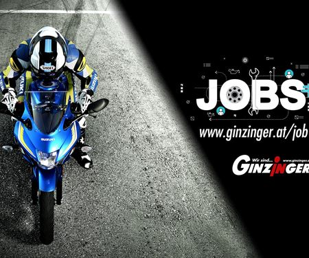 Ginzinger GmbH Filiale Kundl-News: Freie Motorradjobs in unseren Filialen