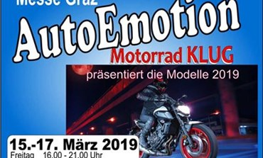 Motorrad Klug auf der AutoEmotion