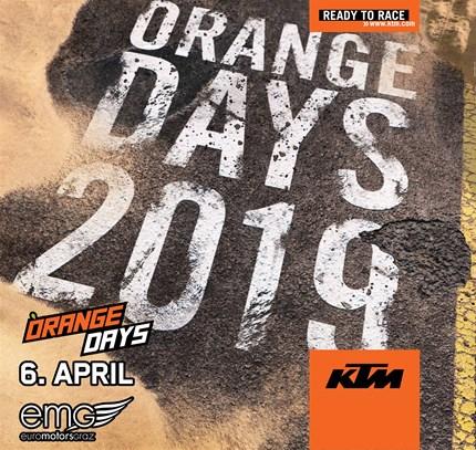 KTM Orange Day  KTM Orange Days @ Euro Motors Graz   Am Samstag, 6. April findet wieder der traditionelle KTM O... Weiter >>