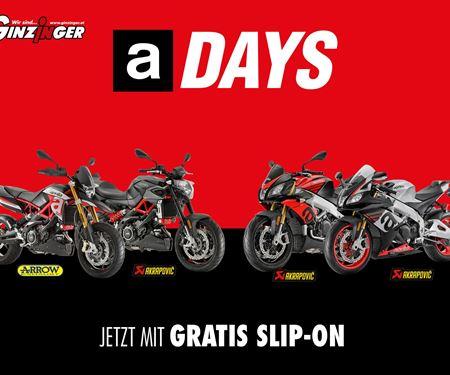 Ginzinger GmbH Innsbruck-News: Aprilia A-Days