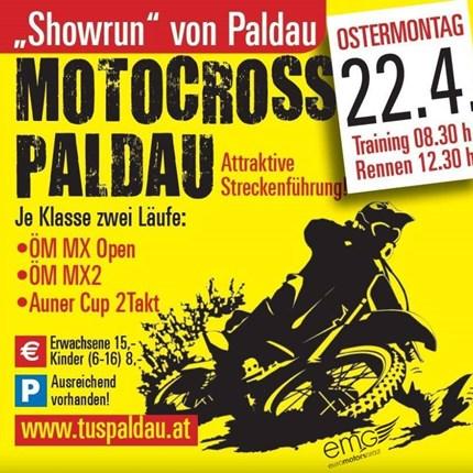 """Motocross Paldau  40. Internationales Motocross Paldau   Auch heuer findet wieder am Ostermontag das traditionelle """"Motocross Paldau"""" statt. ÖM-... Weiter >>"""