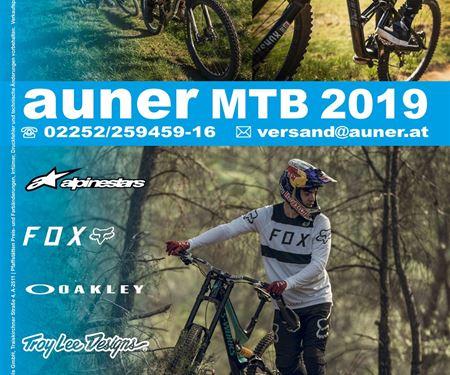 Auner Motorradbekleidung und Zubehör Handels GmbH-News: Auner MTB Katalog 2019