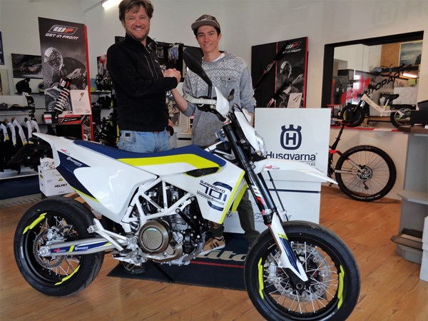 >>>HUSQVARNA 701SM - RIDE OUT<<<