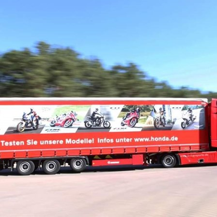 Honda Probefahrt- Truck
