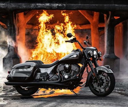 Spocks Motorcycles GmbH-News: Indian Springfield JACK DANIELS (Lim.Ed.177)