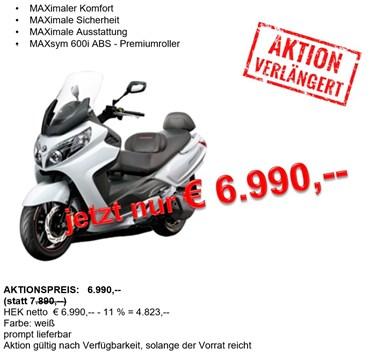 MaxSym 600 Aktion