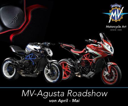 Ginzinger GmbH Salzburg-News: MV Agusta Roadshow in Salzburg