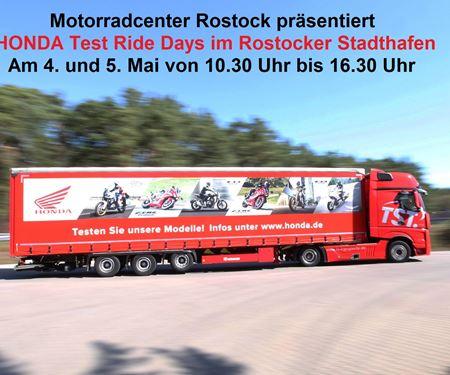 Motorradcenter GmbH Rostock-News: HONDA Test Ride Days im Rostocker Stadthafen