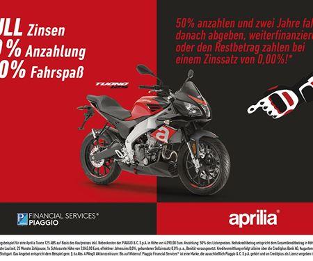 Motorrad Dippold-News: APRILIA PROMO Tuono 125