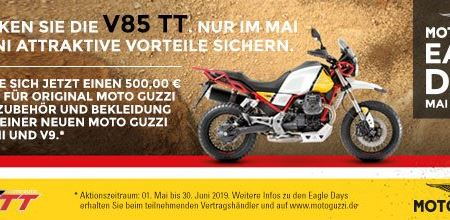Motorrad Dippold-News: Moto Guzzi Eagle Days