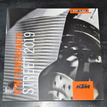 KTM Powerparts Street Katalog 2019 eingetroffen!!!  Endlich ist der KTM Powerparts Street Katalog eingetroffen!!!