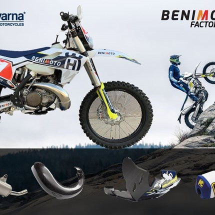 NOTICIAS PROMOCIÓN HUSQVARNA FACTORY EDITION BENIMOTO